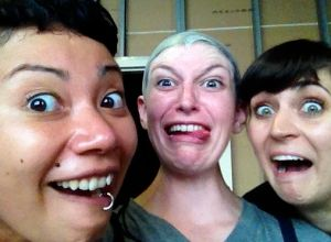 At Cirque FX, bald capping is serious business!