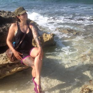 Sometimes you have to sneak away to be a mermaid and clear your head.